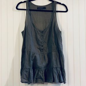 Zara blouse tank top size medium